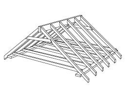 schema charpente